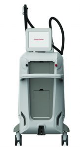 picture of thunder laser used at oasis wellbeing clinic for laser hair removal